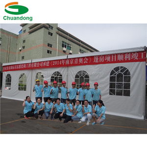 Customized Clear Span Tents for Events with Furniture/Floor/Cooling/Lighting