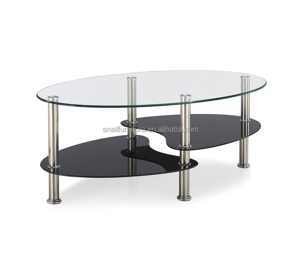 classic oval glass coffee tables living room furniture. Black Bedroom Furniture Sets. Home Design Ideas