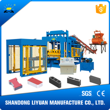 QT10-15 Automatic crushed stone brick making machine