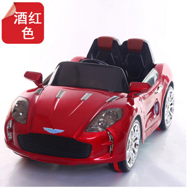 Aston Martin TWO drive two seater children electric car, PP Plastic Type electric ride on car toy