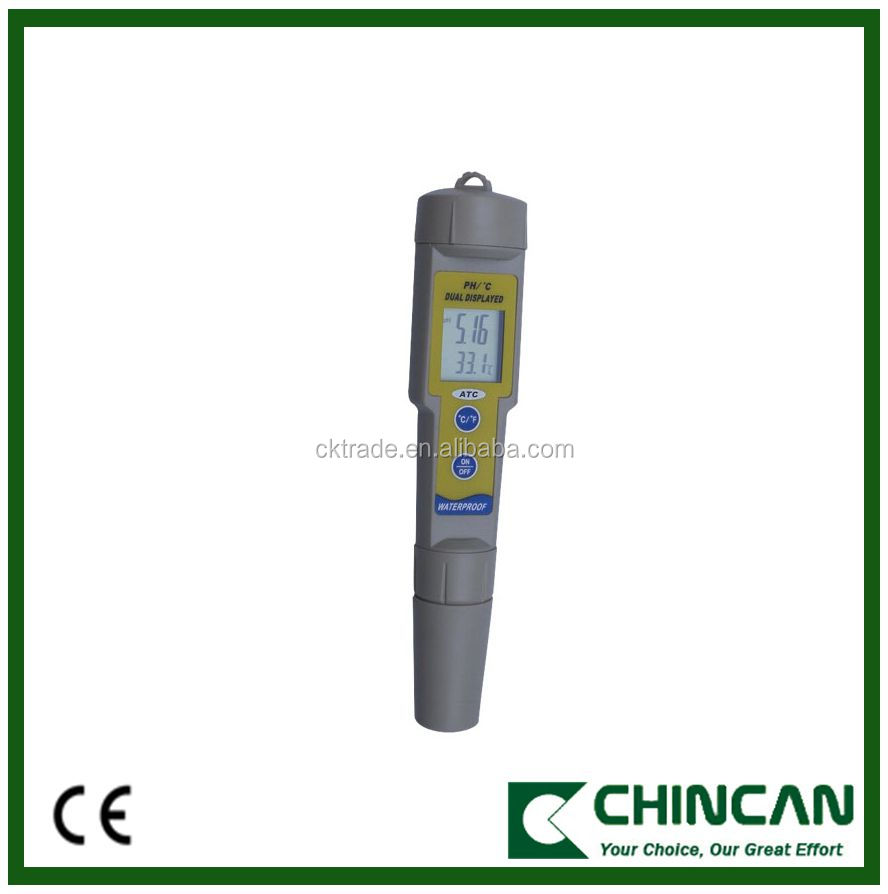 KL-035 High Quality Laboratory Waterproof pH and Teremperature Meter with Competitive Price