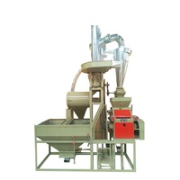 5 ton per day auto small corn flour milling and sifting plant
