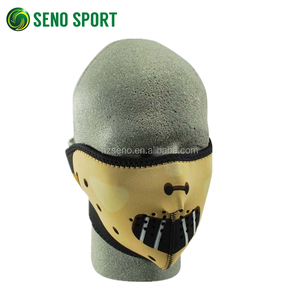 Wholesale OEM Cartoon Full Printed Cycling Half Face Mask