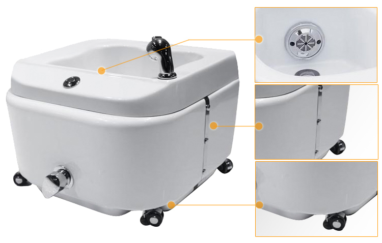 Incroyable Portable Pedicure Spa Tub For Pedicure Chair SF01