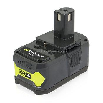 cordless 18v drill battery for ryobi power tools. Black Bedroom Furniture Sets. Home Design Ideas