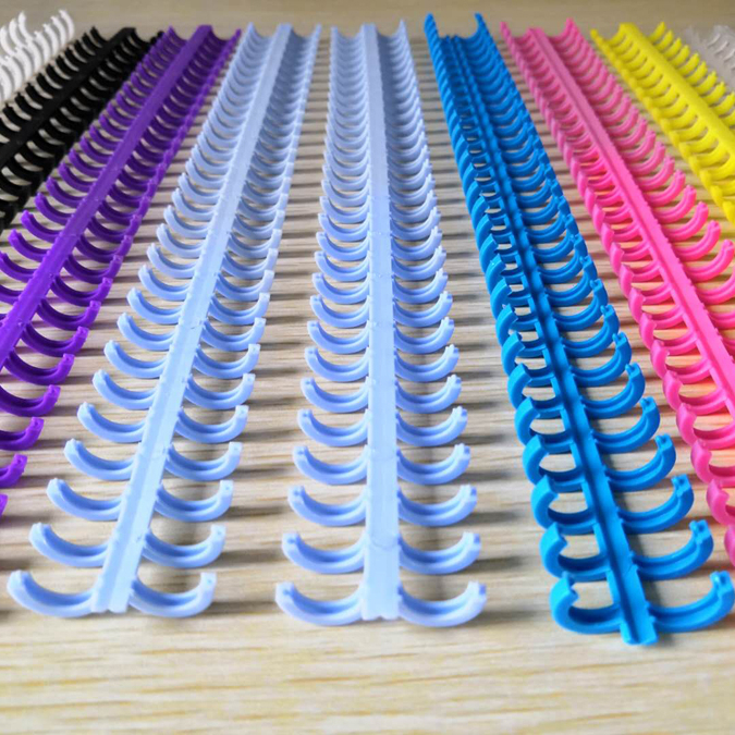 plastic binding ring for loose leaf of notebook folder diary