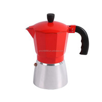 Aluminum Moka Coffee Maker Mocha Espresso Latte Stovetop Filter Pot Percolator Tools