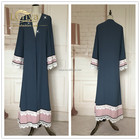 Hotsale Islamic Clothing For Women Indonesia Chiffon Abaya Online Shopping India Mumbai
