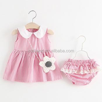 Fashion Desain Gaun Pesta Bayi Perempuan Memakai Gaun Indah Anak