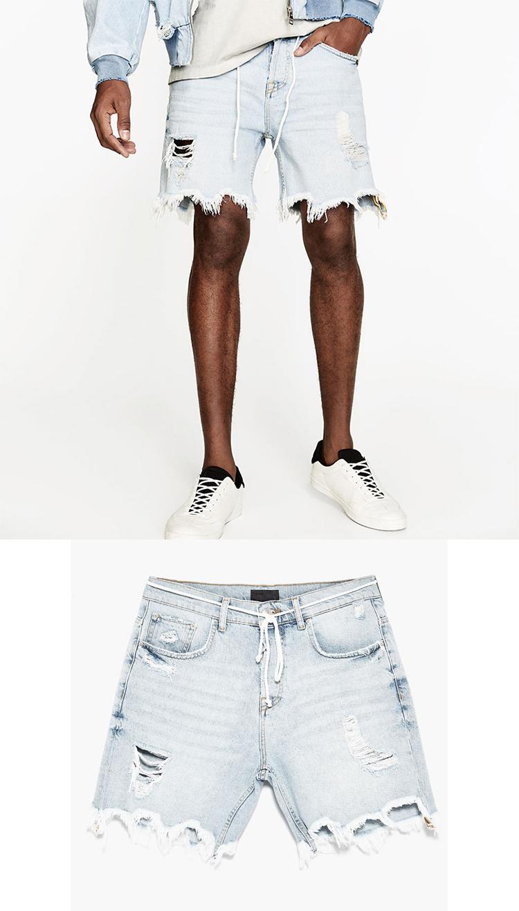 Pantalones Cortos Rotos Hombre Off 61