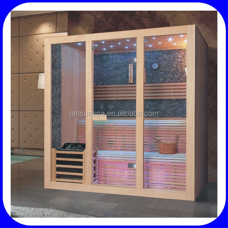2017 New Design Wooden Portable Dry Sauna