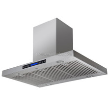 Island Mounted stainless steel Range Hood
