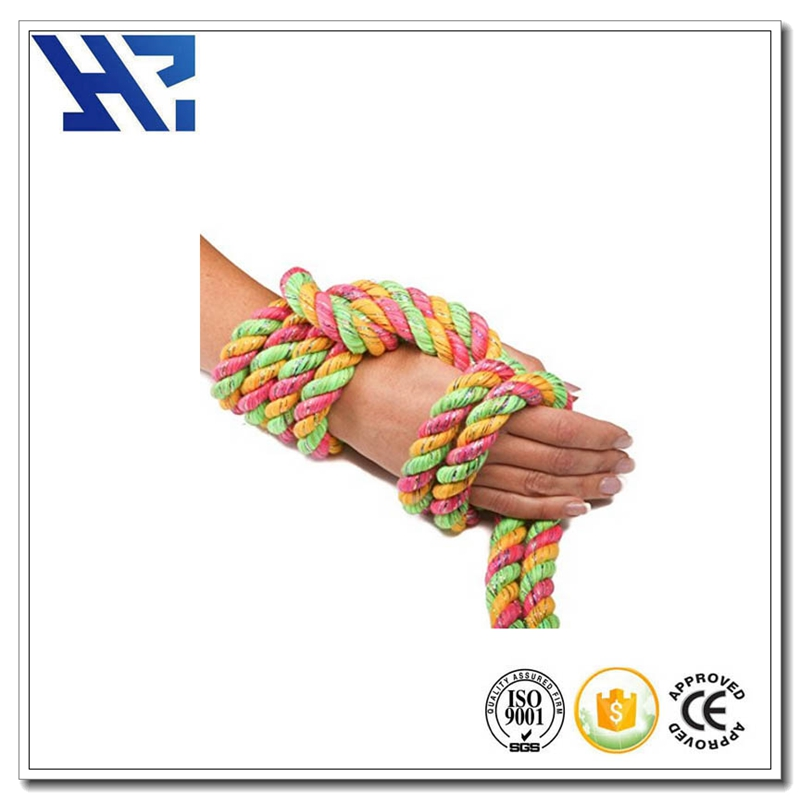 4 strand 12mm twisted polypropylene rope