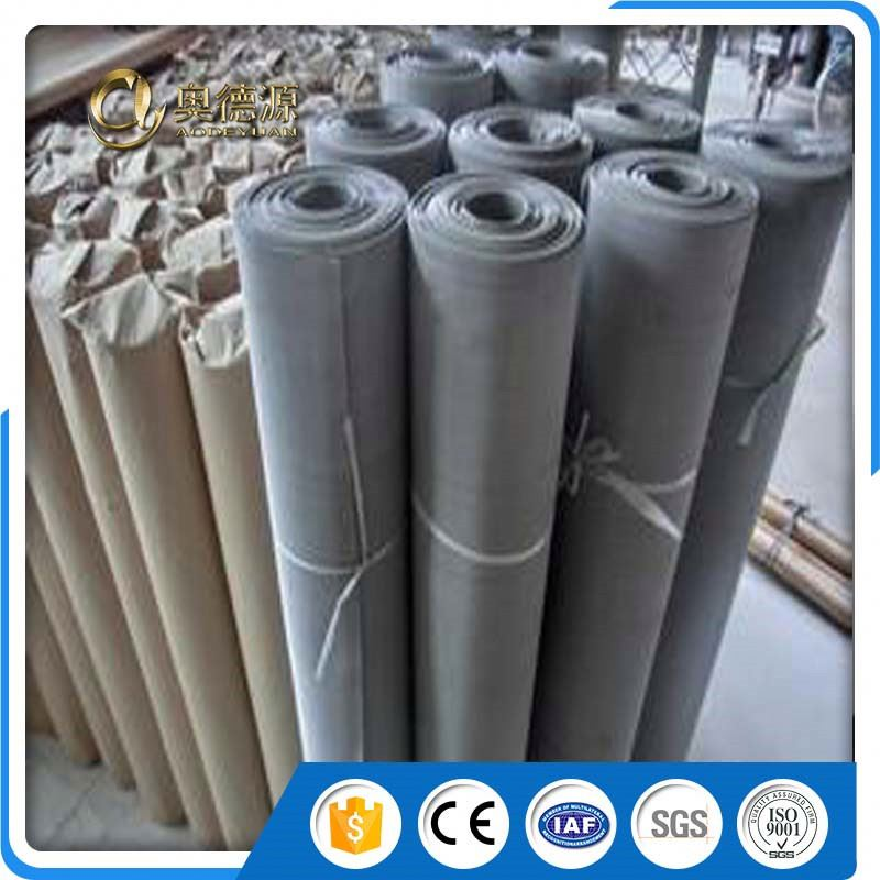 micron stainless steel wire rope flexible metal mesh fabric net