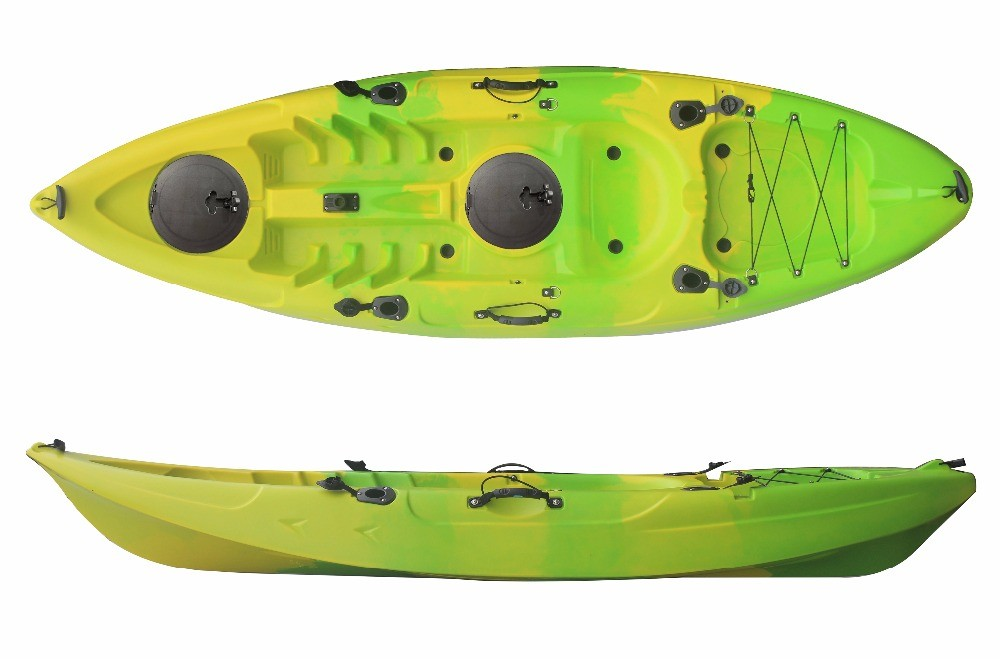 2016 new single boat plastic cheap sea kayak for sale for Cheap fishing kayaks