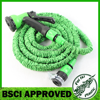 75ft Green Lightweight Expanding Garden Hose No Kink No Tangle