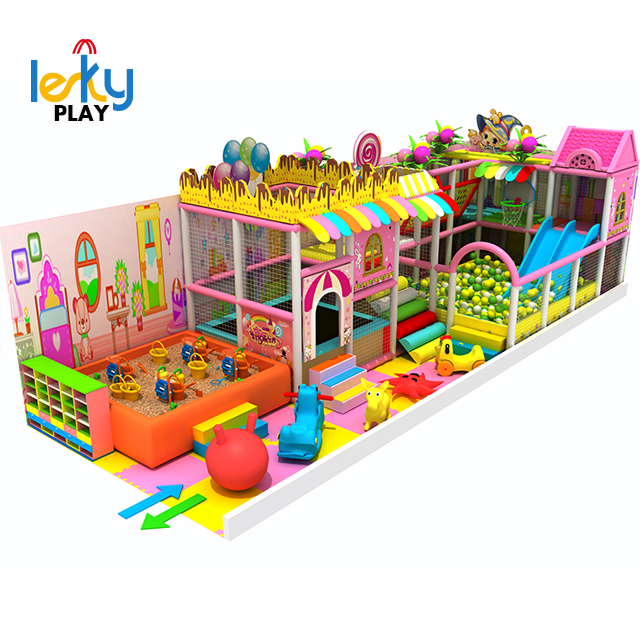 Latest design Forest series of soft play equipaments Professional kids Indoor playground, indoor equipment Amusement Park