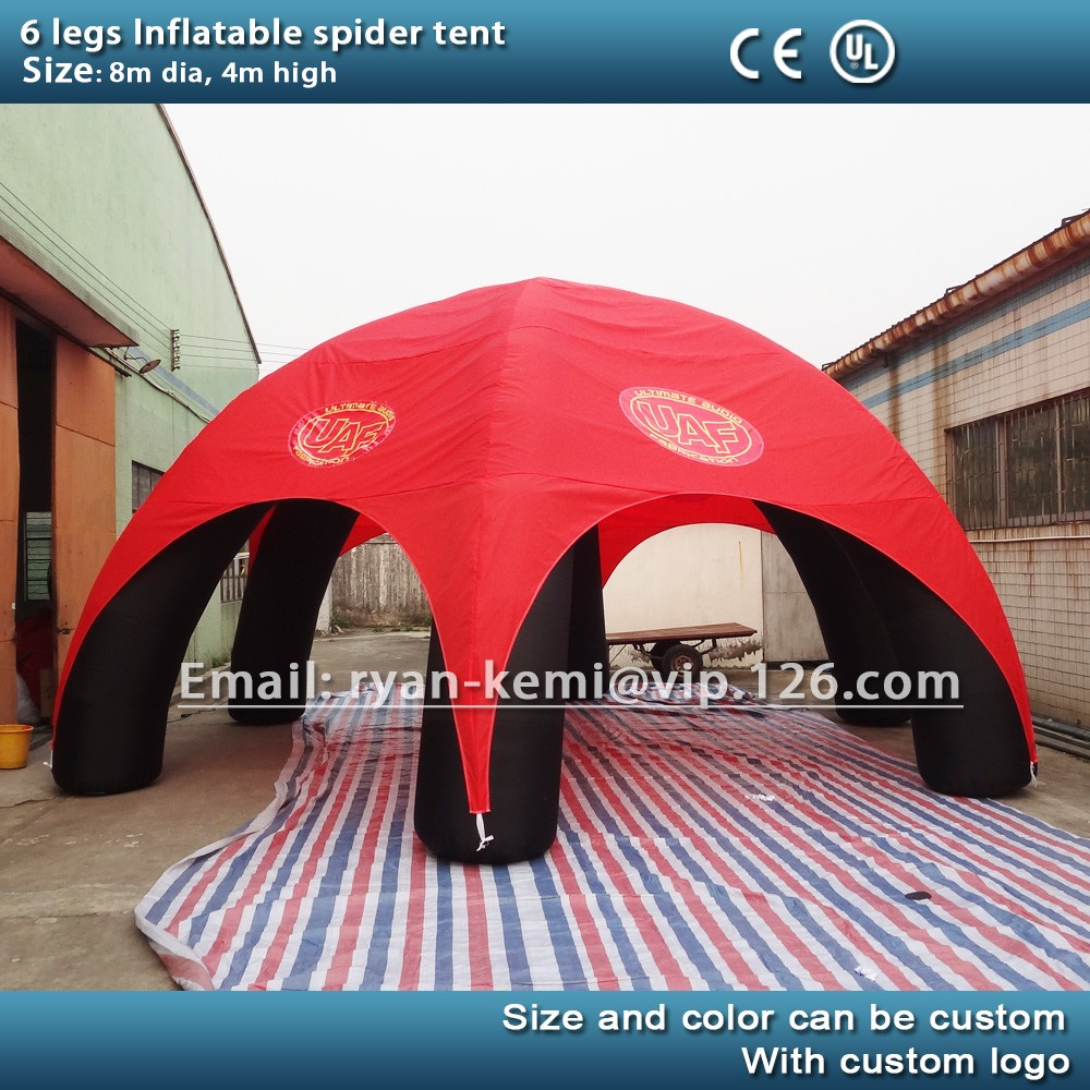 8M inflatable spider tent 6 legs inflatable party tent inflatable advertising dome tent inflatable trade show & 8m Inflatable Spider Tent 6 Legs Inflatable Party Tent Inflatable ...