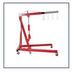 2 Ton Professional Jack Shop Lifting Engine Crane With Load Leveler