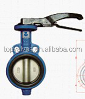unbelievable excellent wafer butterfly valve j