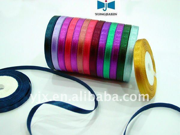 various color polyester decorative ribbon