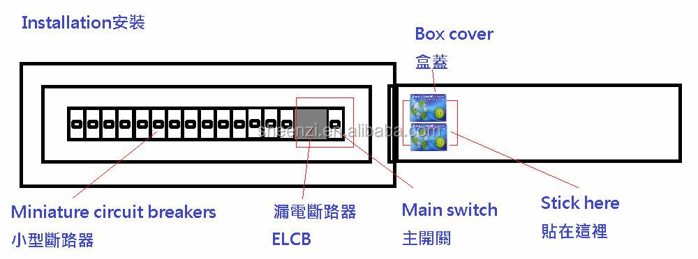 High Quality Electric Power Saving Card