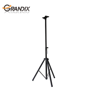 Heavy Duty Tripod Stage Speaker Stand With Mounting Plate for Audio Mobile DJ PA Speaker and Woofer