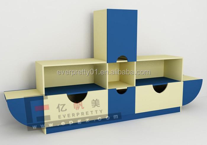 muebles infantiles modular forma de barco gabinete para y de juguetes