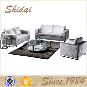 C Shaped Sofa, Flip Foam Sofa, Wooden Arm Sofas G177
