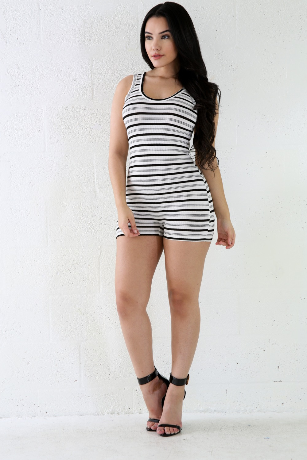 Tight White Jumpsuit Breeze Clothing