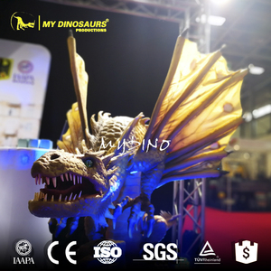 MY Dino WD-26 Life Size Simulation 3D Dragon