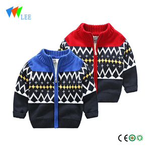 children boutique kids cardigan knitted sweater design for boys wholesale