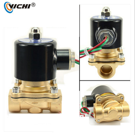 YICHI 2W200-20 3/4 inch direct acting diaphragm brass water solenoid valve