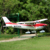 Cessna 182 4Ch Beginner RC Airplane 965mm wingspan Trainer Electric RC Model Plane with LED lights