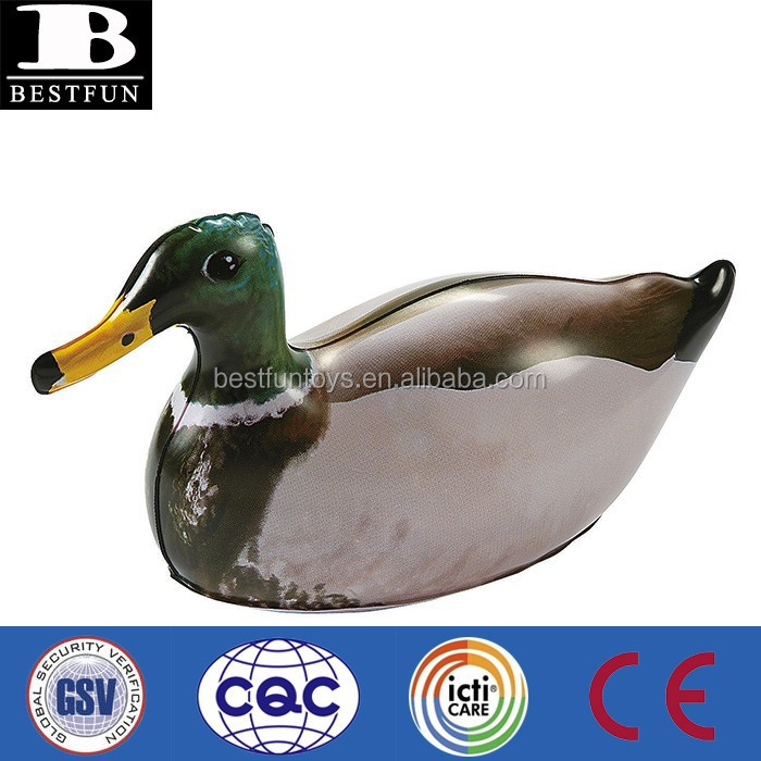 factory custom made inflatable duck decoys plastic used duck hunting decoys for sale vinyl collapsible duck decoy