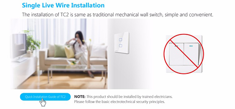 Broadlink TC2 US/EU 2018 New Arrival Smart Home RF Touch Light Switches 123Gang 110V 220V Remote Control Wall Touch Switch Panel