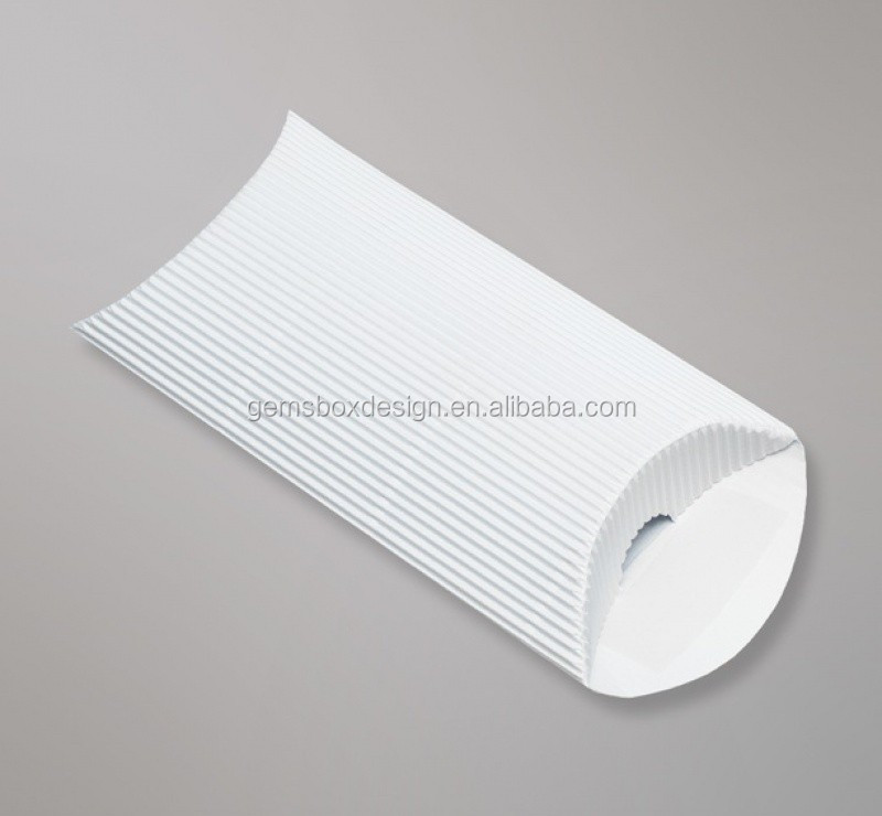 Envelope Kings pocket peel seal white Corrugated Pillow Box