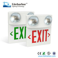 wholesale high quality UL ABS 5W emergency exits signs