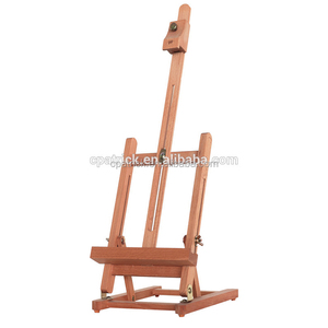 Top selling nice quality Beech wood Folding Advertainment and Wedding desktop displaying easel