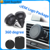 smartphone accessories 360 degree rotation magnet plastic phone holder