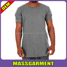 tall blank back zipper t shirt man zipper sweatshirt no hood