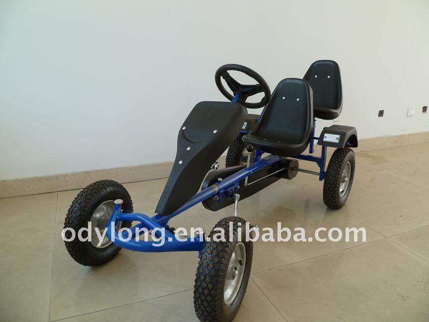 Cuatro Ruedas Pasajeros Dos Asientos Pedal Karts - Buy Cuatro Ruedas ...