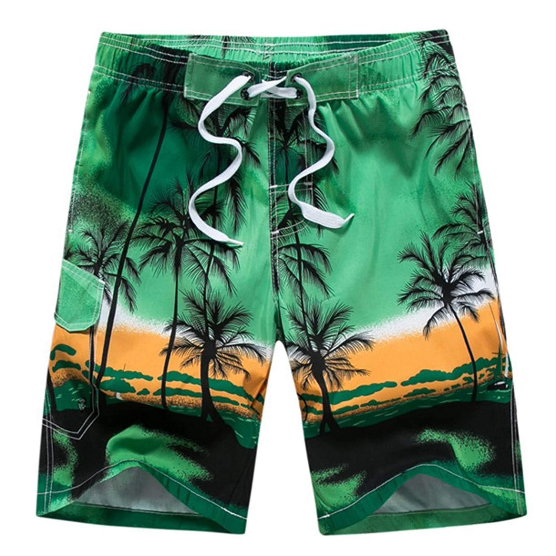 9d34ed514c1af Get Quotations · ZHANGJZJ Couple Swimwear Board Shorts Women & Mens  Boardshorts Surf Swimming Shorts Swim Trunks Beach Sports