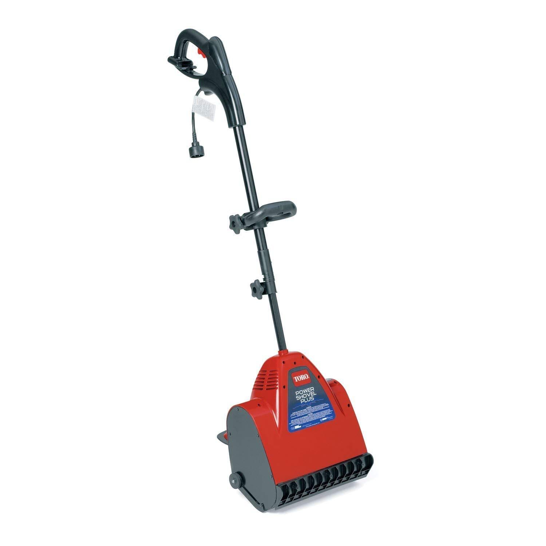 Toro Power Shovel 7.5 Amp Snow Thrower/Electric Broom #38360