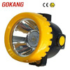 LED cordless miners caplamp attached to helmet for mining harsh conditions