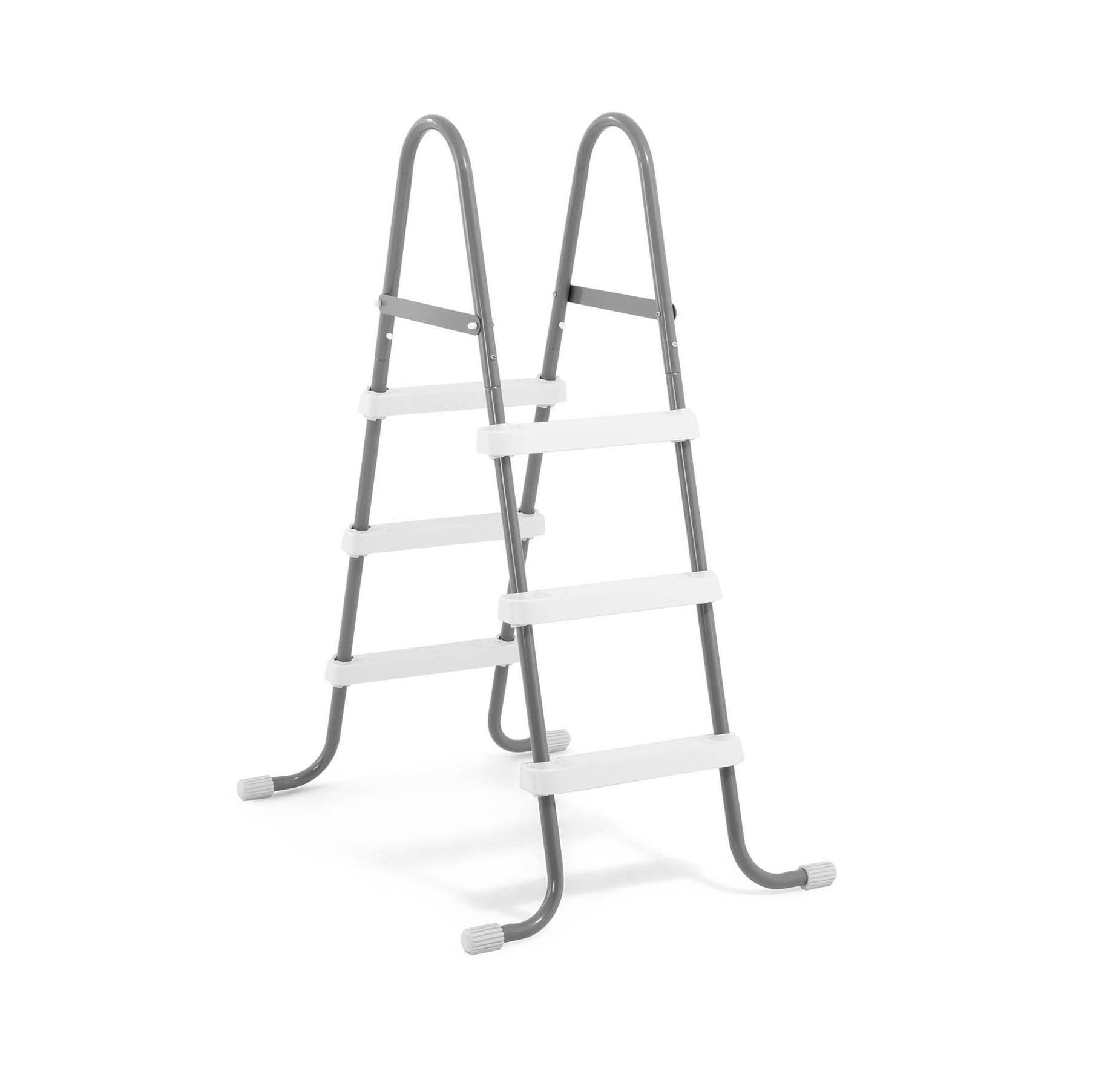 Buy Intex Steel Frame Above Ground Swimming Pool Ladder for 36&quot ...