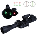 High Quality 3 9X40 EG Hunting Tactical Riflescope Red Green Laser Hunting Optics Sniper Scope Sight