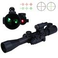 High Quality 3 9X40 EG Hunting Tactical Riflescope Red Green Laser Hunting Optics Sniper Scope Sight