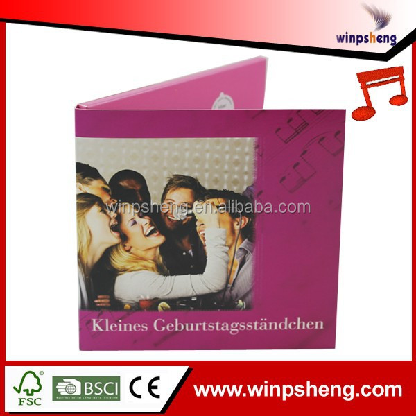 Jumbo Greeting Cards With Music/Music Player Greeting Card