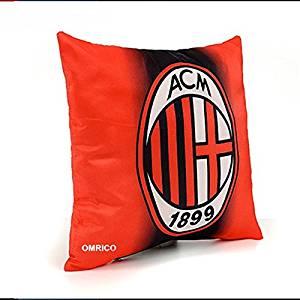 7a92ece0f Get Quotations · Soccer Fans Car Seat Cushion Auto Pillow Italy Milan Car  Interior Team Logo AC Milan Cotton